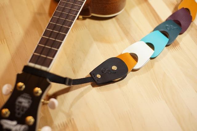 ギターストラップ取付用アタッチメント【ストラップピンが1つしか無いギター・ウクレレに最適】