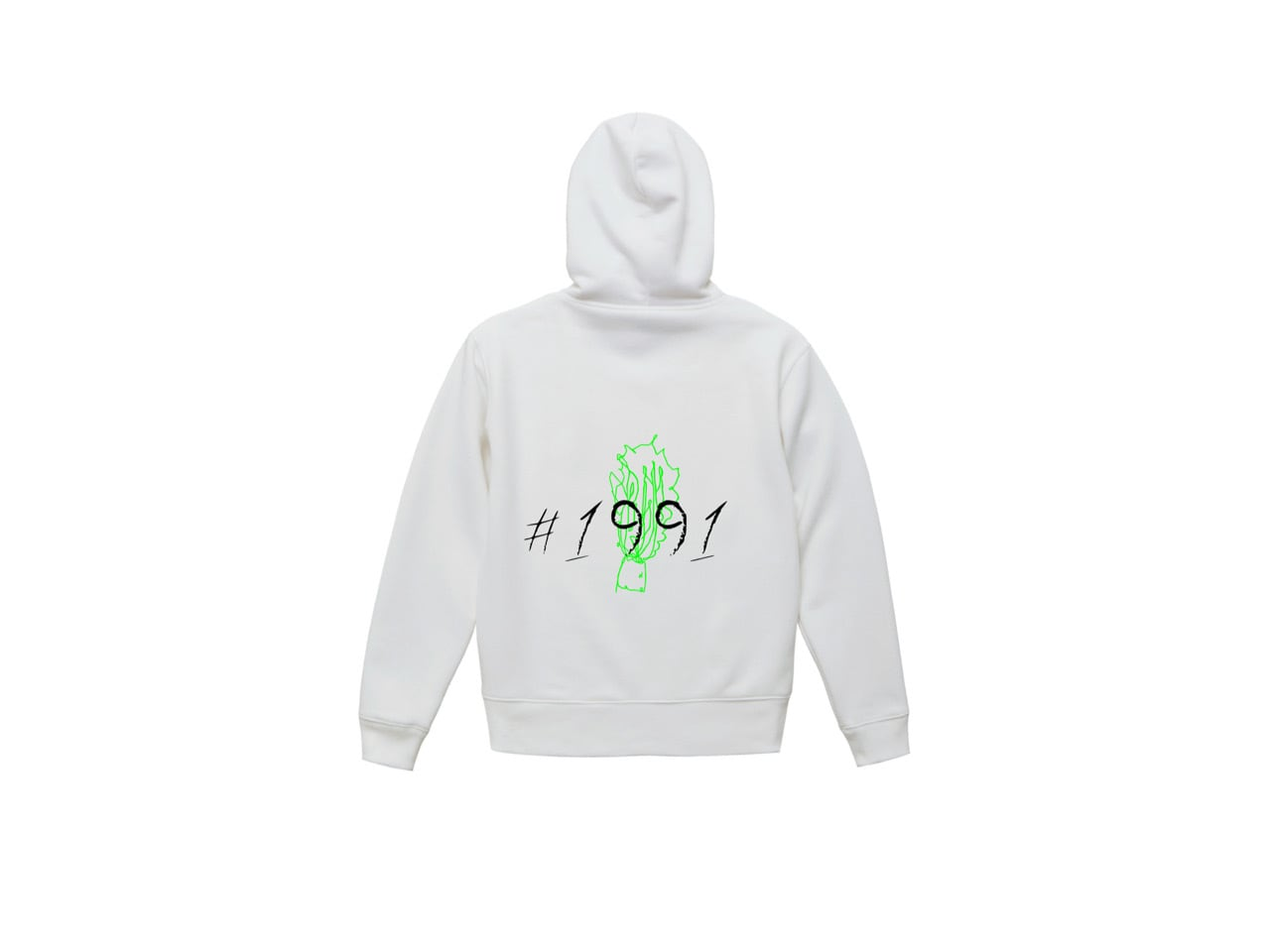 1991 graphic big hoodie (WH)