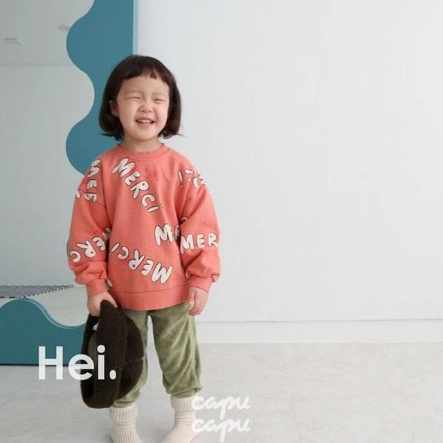 «即納»«Hei» merci sweatshirt 3colors メルシースウェット