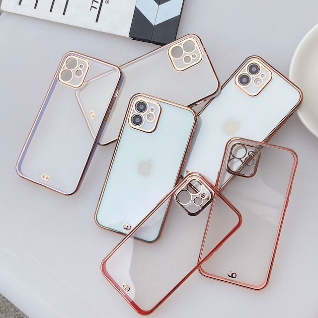 Side simple color iphone case