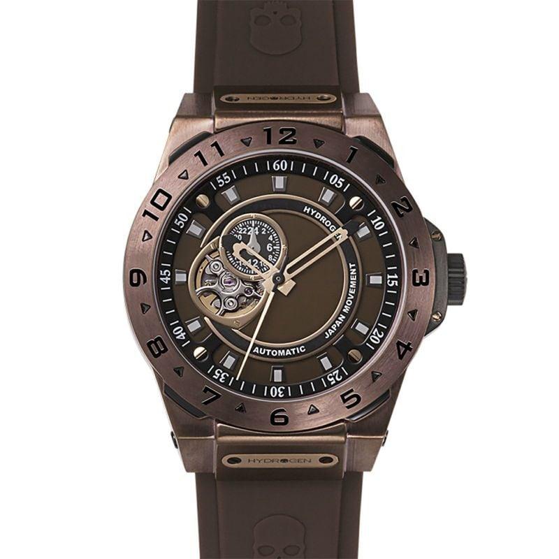 【HYDROGEN WATCH ハイドロゲンウォッチ】HW424403/VENTO ヴェント(ブラウン)/国内正規品 腕時計