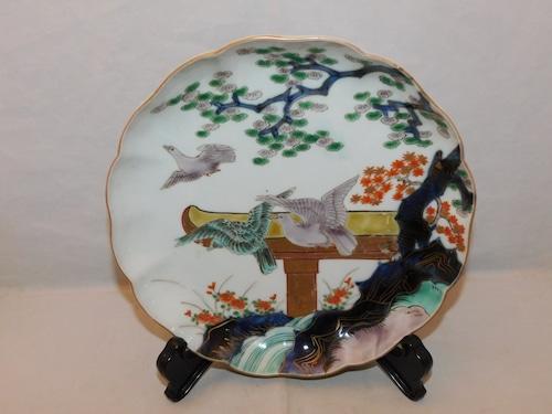 伊万里色絵七寸皿 (一枚 )Imari porcelain  plate