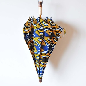 Bon Bon Store アフリカンバティック長傘(桜 011)