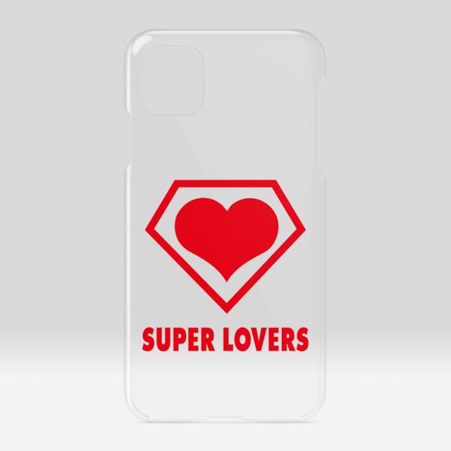 SUPER LOVERS logo/スーパーラヴァーズアイホンケース 11