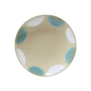 益子焼 つかもと窯 「 Nisai 」 プレート 皿 約19cm 糠青二彩 TN-20