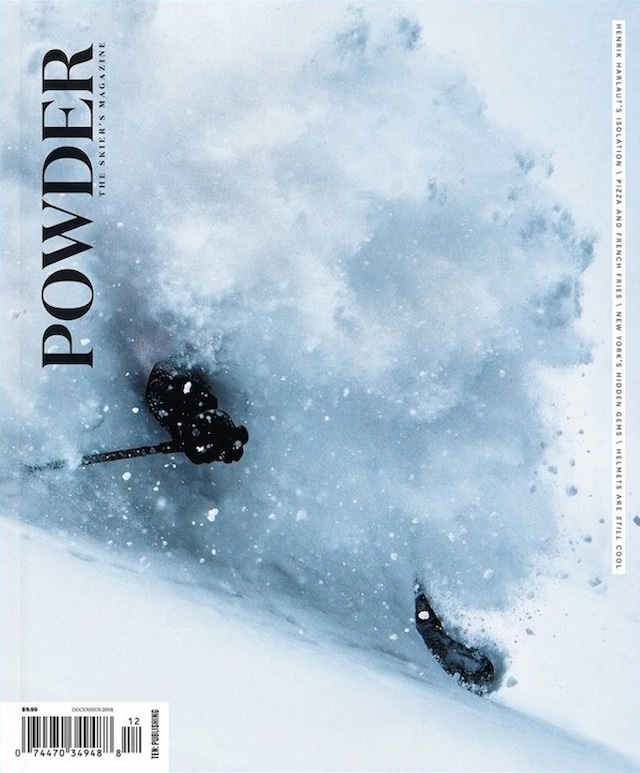 POWDER 2018年12月号(スキー雑誌)