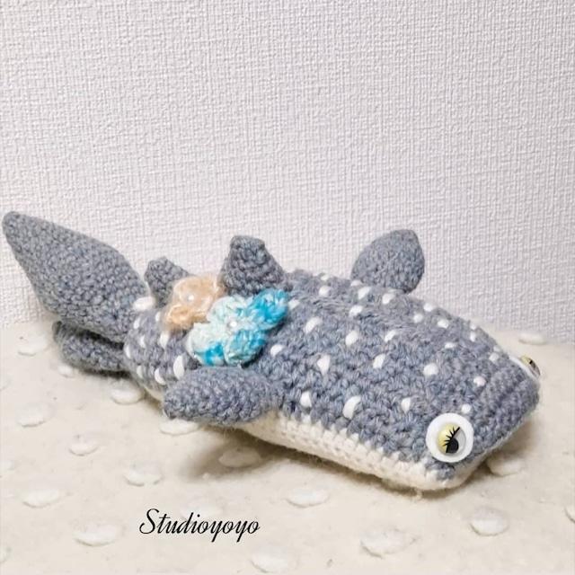 Studioyoyo: ジンベイザメ 大 可愛いあみぐるみ プレゼントや贈り物にも