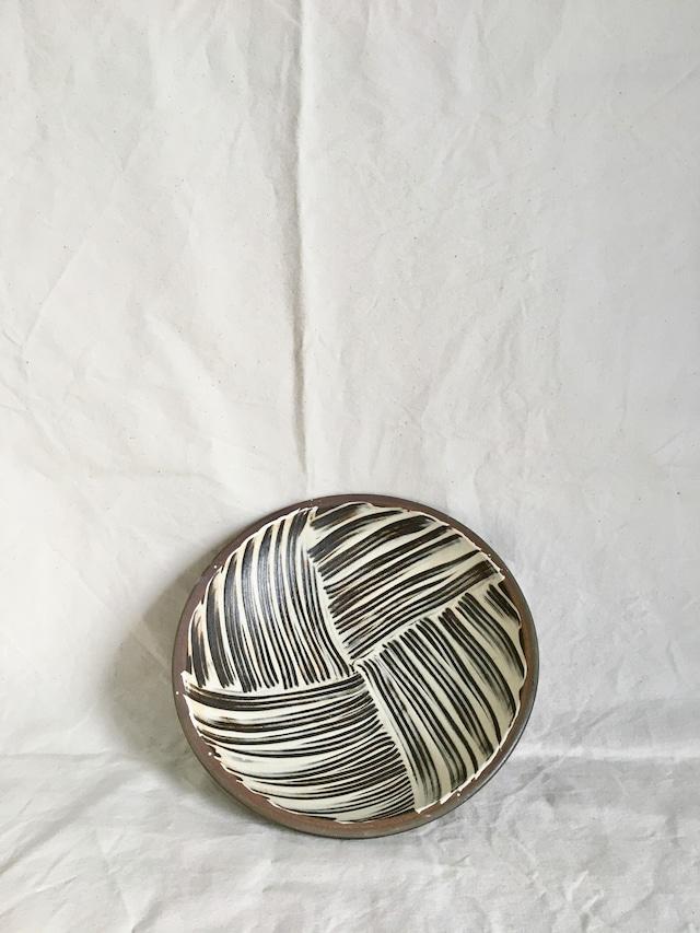 縁重9寸皿-坂本工窯