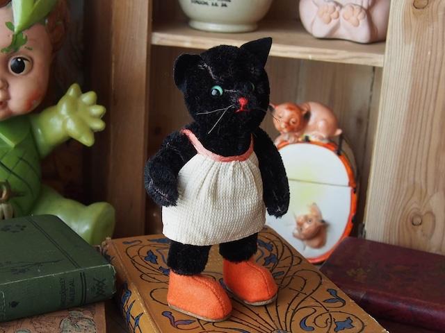ドイツアンティーク 黒ネコ(KERSA)