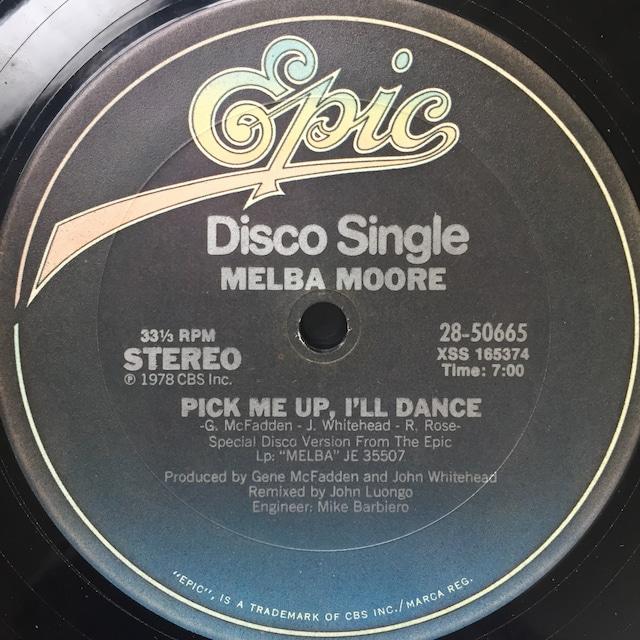Melba Moore – Pick Me Up, I'll Dance