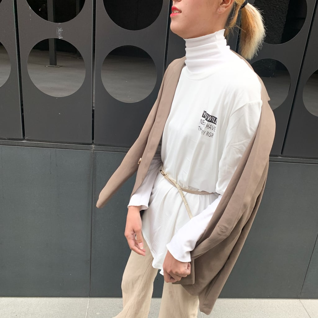 英字Tシャツ ロゴ ユニセックス