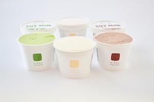 豆腐屋のアイスクリームセット