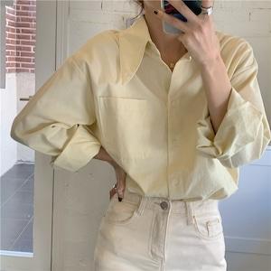 ユニークカラーデイリーシャツ RD7992