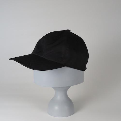 SS20-BD-7 Supima Cotton W-Face Cap BLK