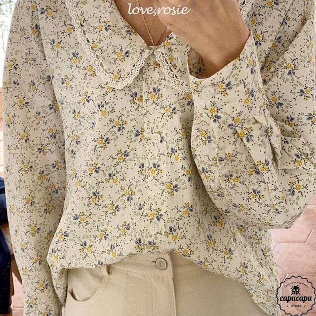 «sold out» love,rosie vintage blouse ヴィンテージレースブラウス
