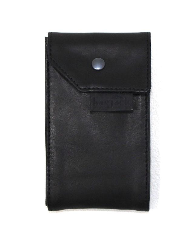 【bagjack】 card carrier BLK