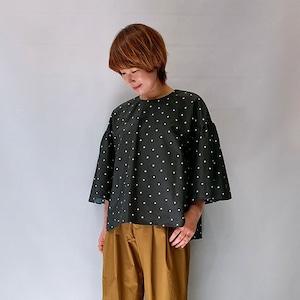 marmors(マルモア) water repellent dot blouse 2021秋物新作   [送料無料]