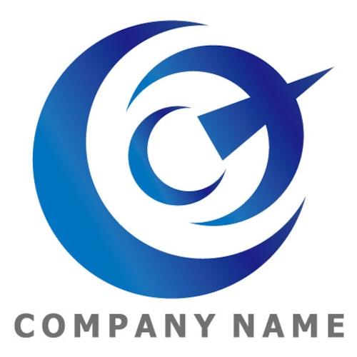 C文字 ロゴデザイン
