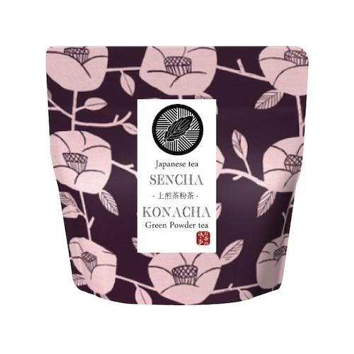 超微粉末!美味しい上煎茶粉茶 40g 計量スプーン付 健康に・エピガロカテキンガレートのチカラを!