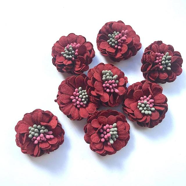 〈再入荷〉2色おしべ付きお花モチーフ