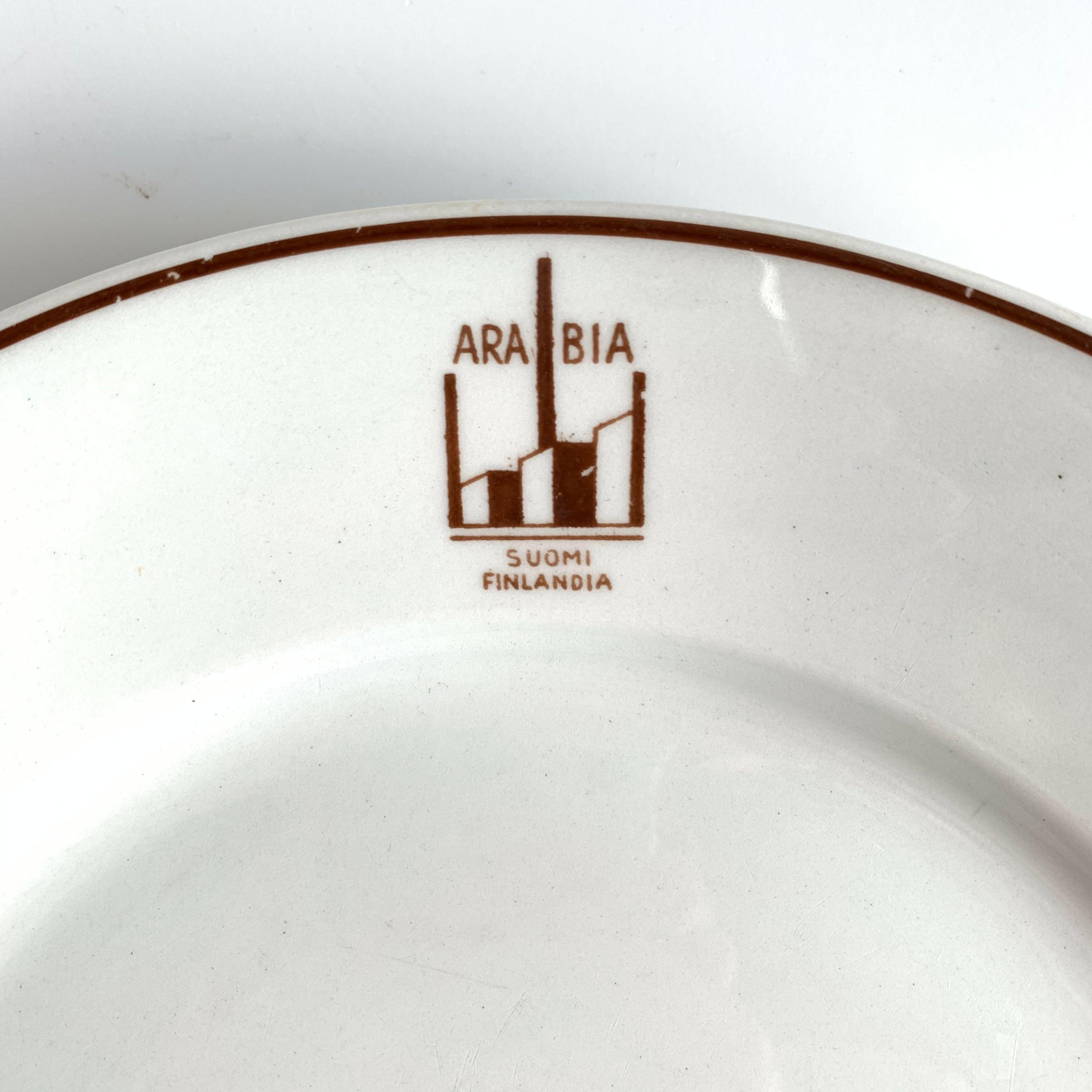 ARABIA / Dinner Plate[A]