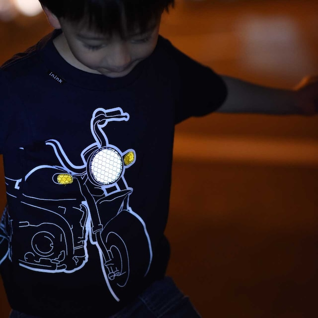 KIDS motorbike Tシャツ