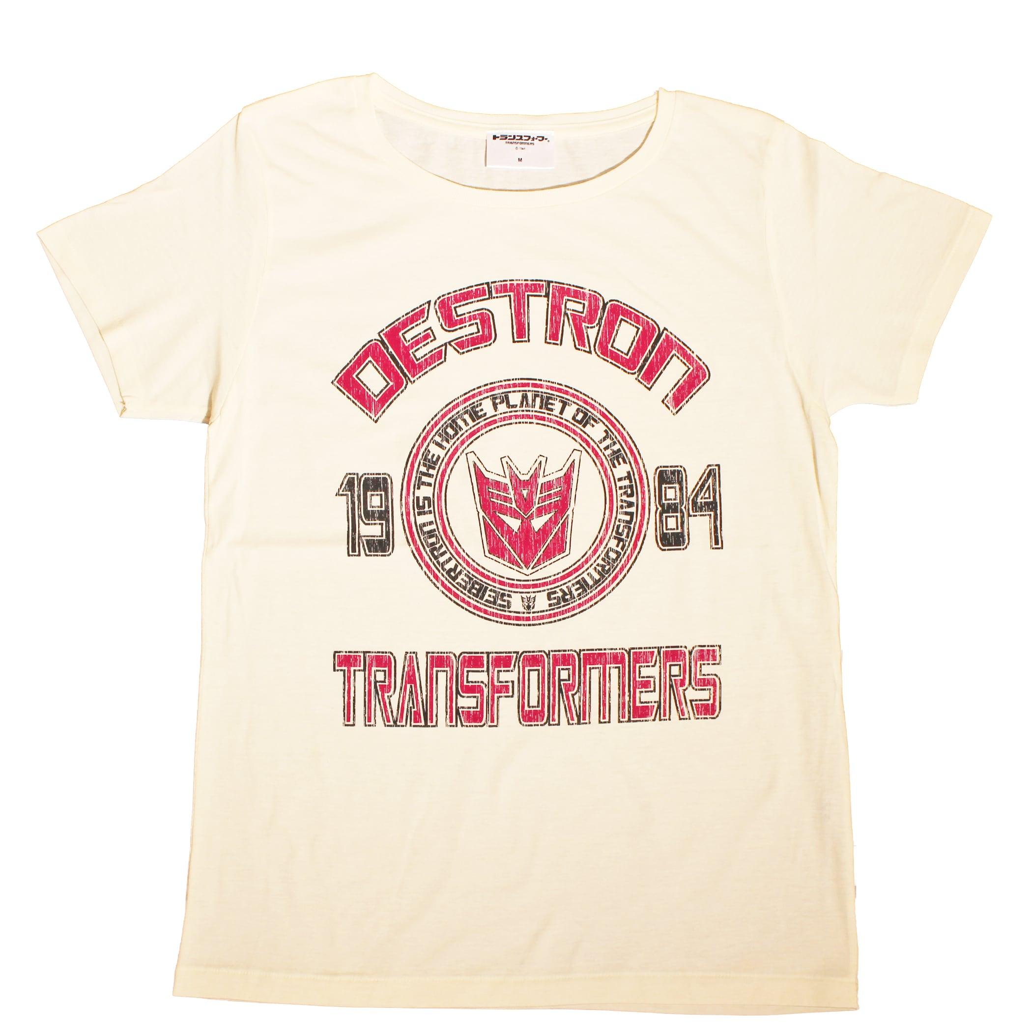 【トランスフォーマー】戦え!超ロボット生命体トランスフォーマー|デストロンエンブレムベースボールデザイン Tシャツ