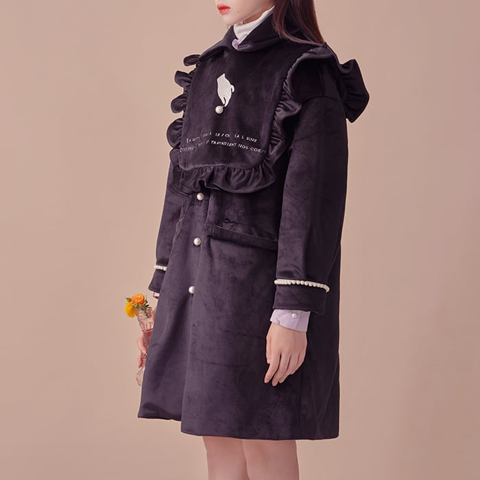Pearl shadow coat
