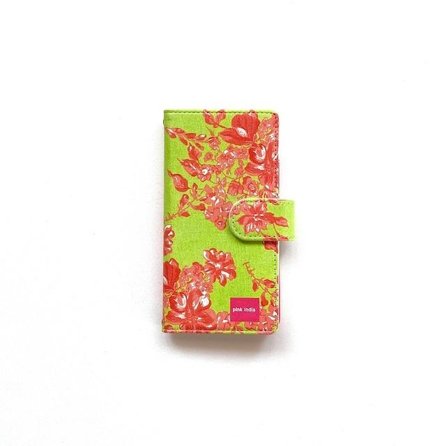 北欧デザイン iPhone手帳型ケース  | herbal garden