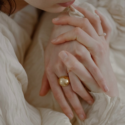 Small Round Shell Ring [RC-RG024]