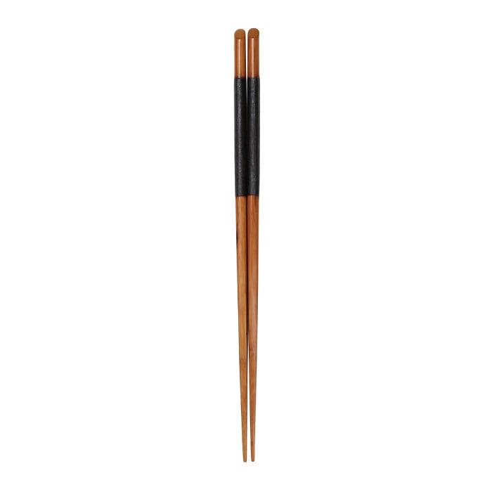 摺漆天削取り箸(和紙張) 【47-253】