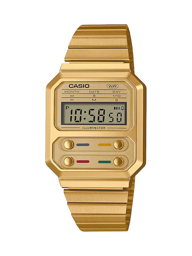 CASIO A100WEG-9AJF GOLD
