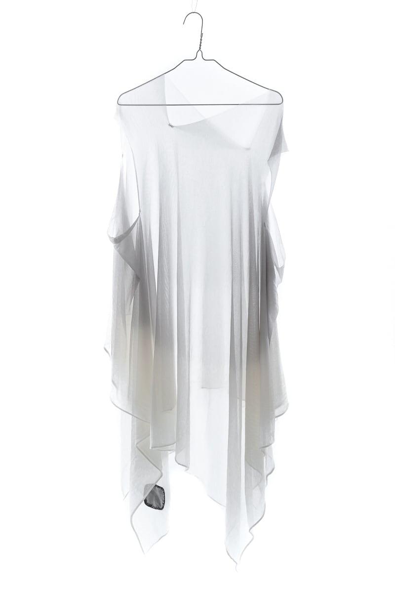 [着るストール]RESORT DRESS/STOLE moon GRAY 204301[SILK][税/送料込]