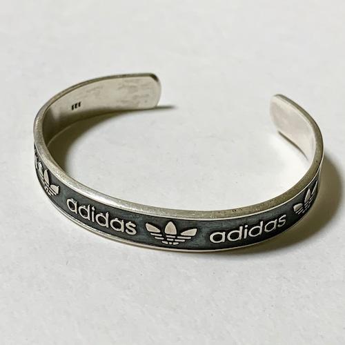 Vintage ADIDAS 925 Silver Bangle