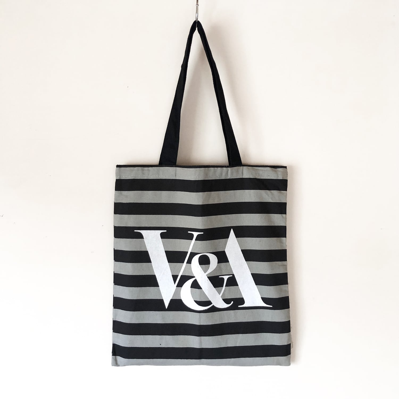 V&A design tote bag / TB-003GY