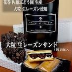 大粒生レーズンサンド (佐藤ぶどう園産生レーズン使用)