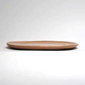 EREACHE エレアチェ 素焼き 茶 平皿 食器 メキシコ オアハカ No.13