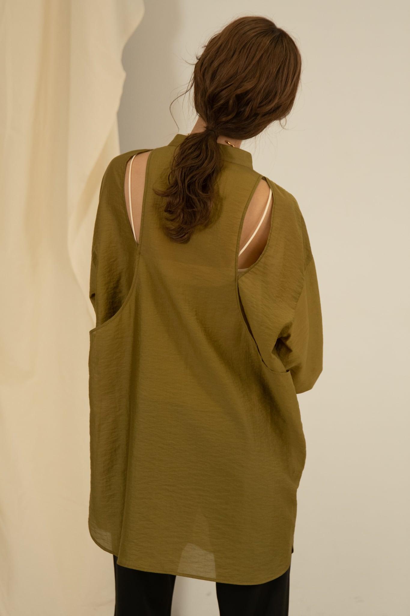 back open design shirt