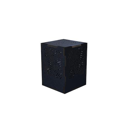 ミニ行灯 ウィンド - 置き型照明 Sサイズ ブラック