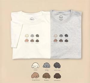 6colors doggies t-shirt