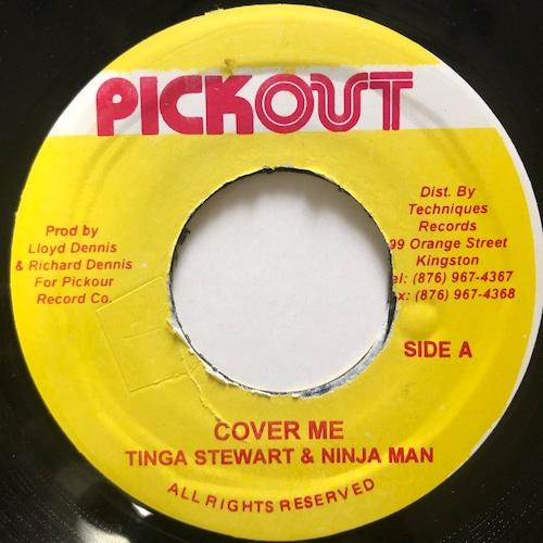 Ninjaman, Tinga Stewart - Cover Me【7-20697】