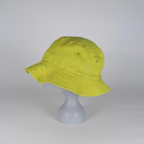 SS21-BD-7 Ramie W-Face Hat - YEL