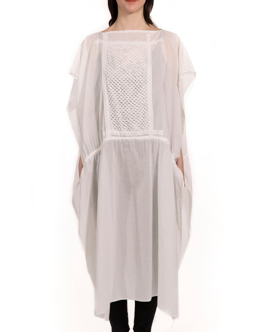 [受注生産]DRESS STOLE ドレス/ストール WHITE 日本製[送料/税込]