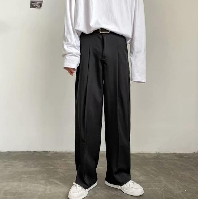 【翌日発送/数量限定】Street style straight pants LD0573