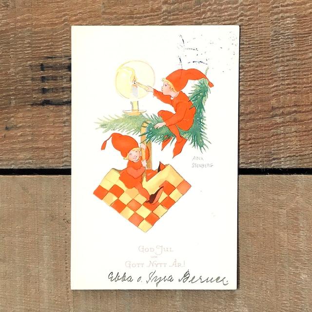 クリスマスカード「Aina Stenberg(アイーナ・ステーンベリ)」《200222-09》