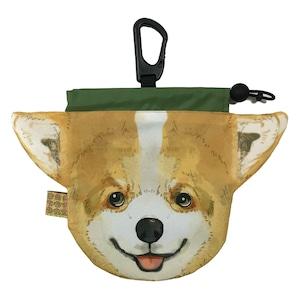 犬のウンチバッグ M【コーギー】防臭生地 / デオドラント加工布使用