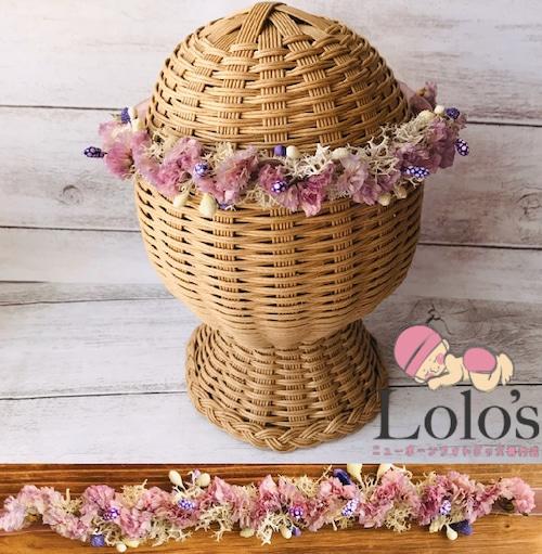 花いっぱいのニューボーンヘアアクセサリー(3)