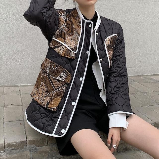 Quilting design jacket KRE603