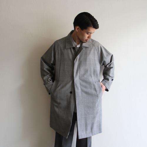 STILL BY HAND  【 mens 】glen check coat