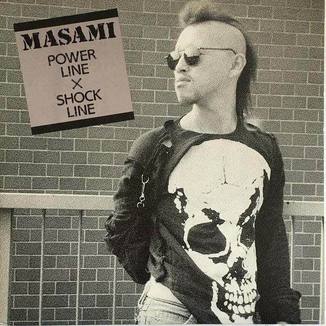 【LP・国内盤】MASAMI / Power Line x Shock Line